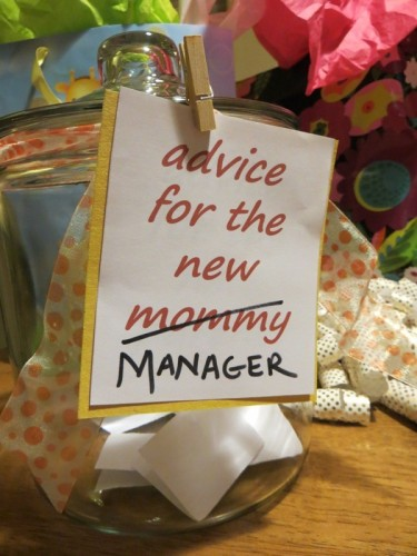 advice for new manager