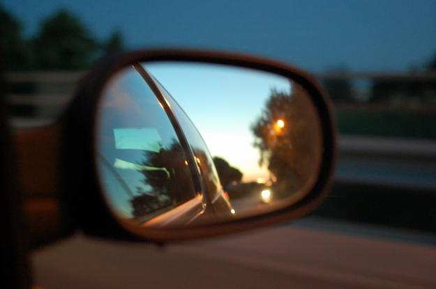 Rearview mirror by Massimiliano Calamelli